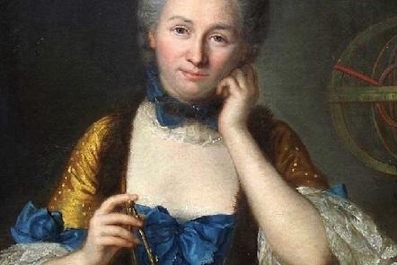 Émilie du Châtelet (1706-1749), portrait by Maurice Quentin de La Tour