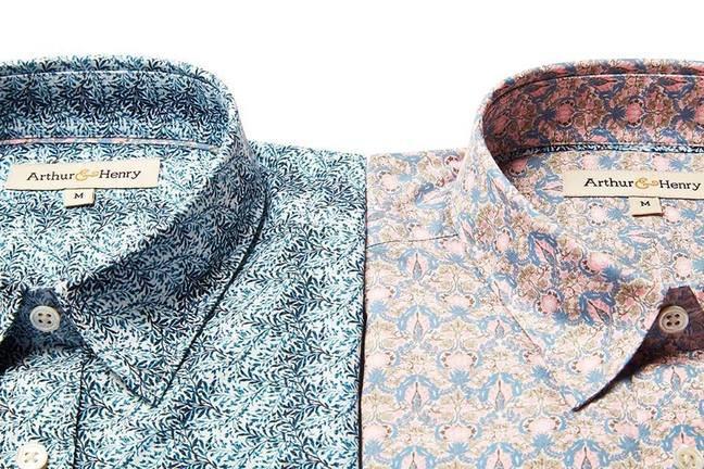 men's shirts from brand Arthur & Henry