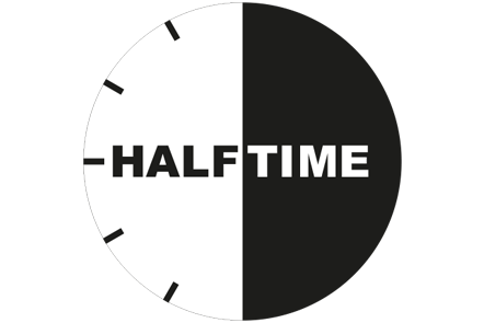 Watch showing halftime