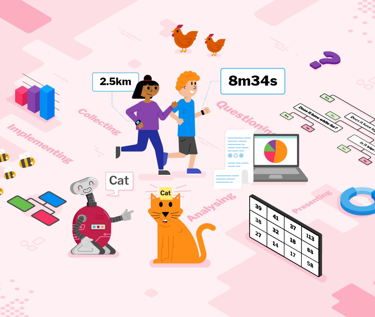 Teaching Data and Information to 5- to 11-year-olds
