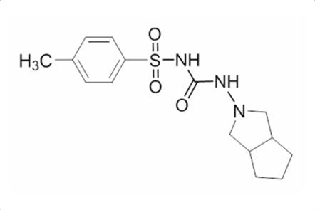 A molecule of gliclazide