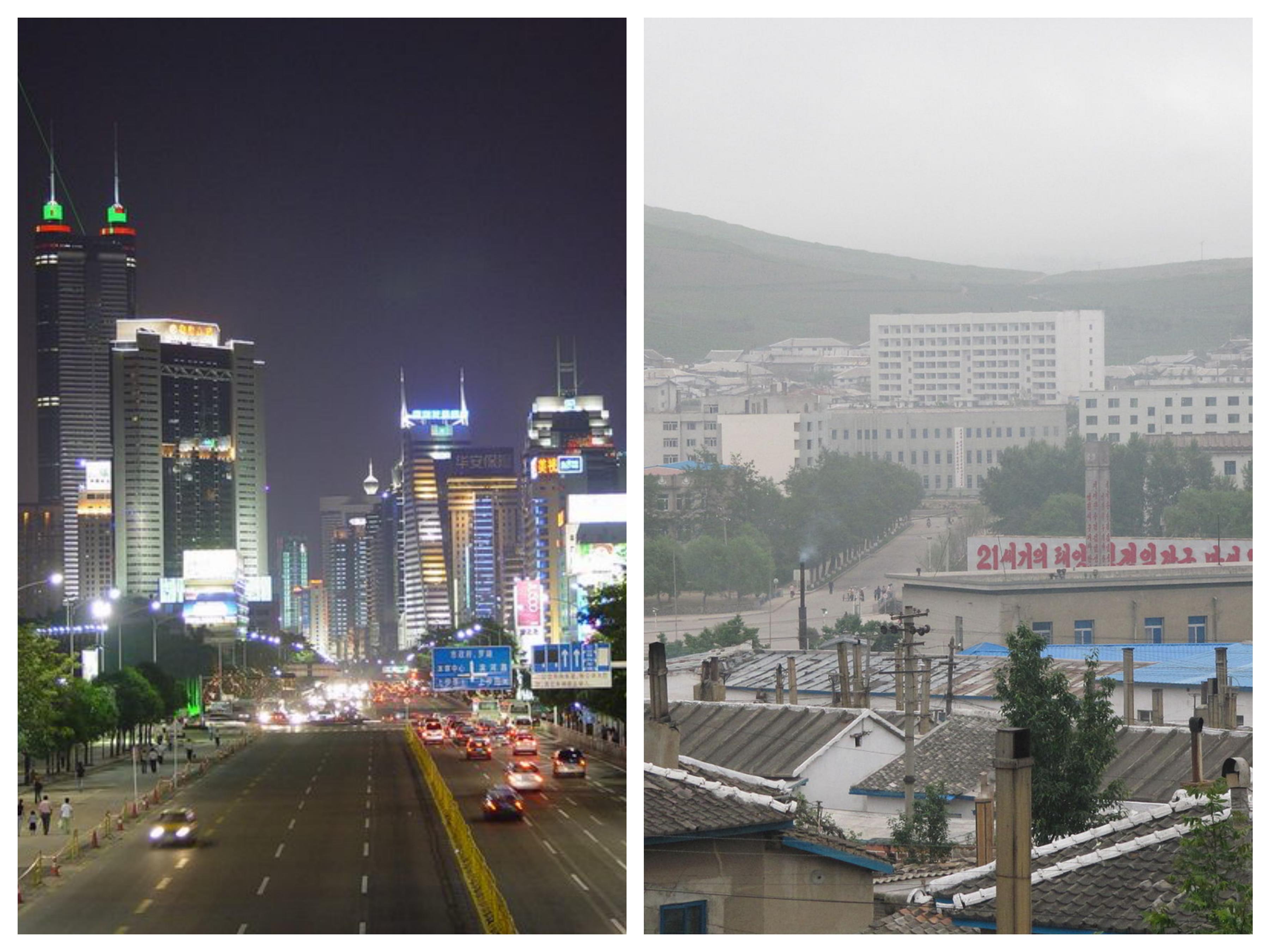 Shenzhen vs. Rason