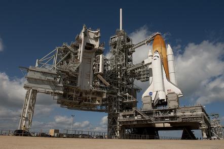 Space shuttle Endeavour preparing for launch
