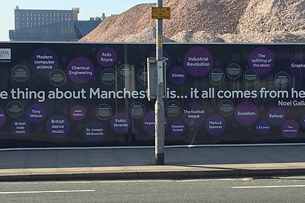 Thing about Manchester is .....
