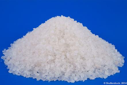 A pile of sea salt © Evlakhov Valeriy/Shutterstock