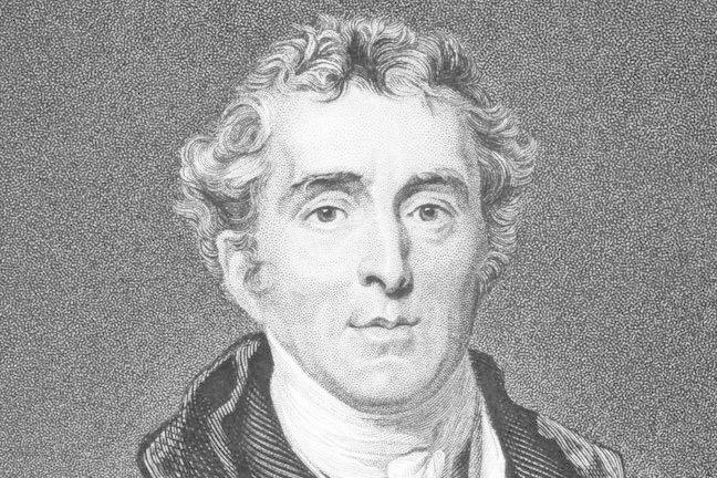 Engraving of the Duke of Wellington