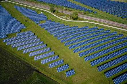 Large scale PV plant