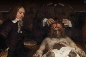 Rembrandt's Anatomic lesson by Dr Deijman