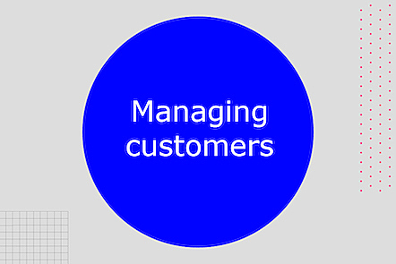 Activity image for Managing Customers