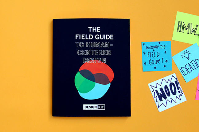 Field Guide to Human-Centred Design with Post-It notes