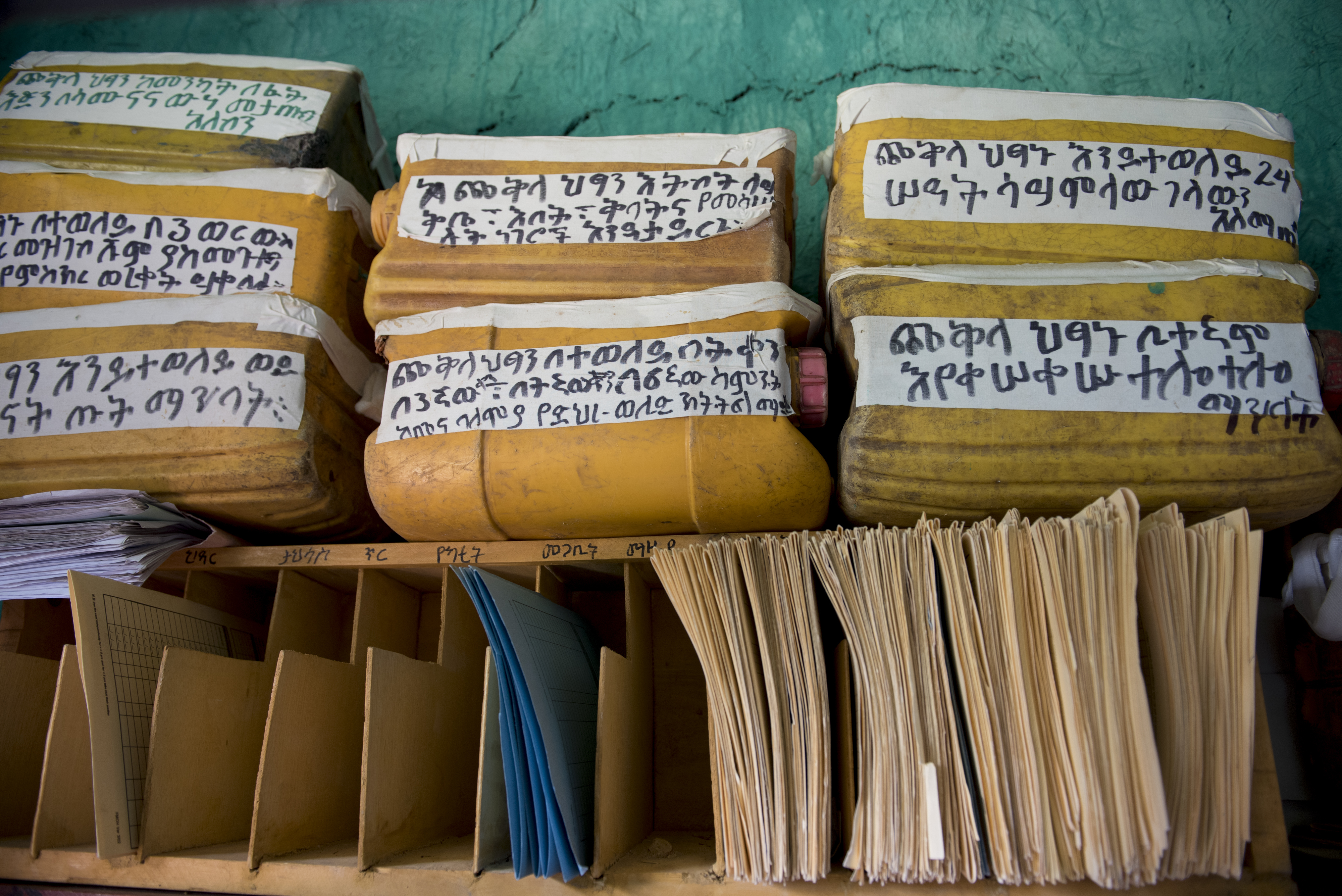Clinic Health Records, Ethiopia