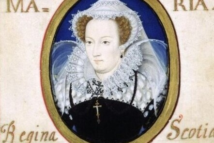 Miniature portrait of Mary Queen of Scots