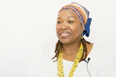 Vuyo - one of the teachers interviewed in the course
