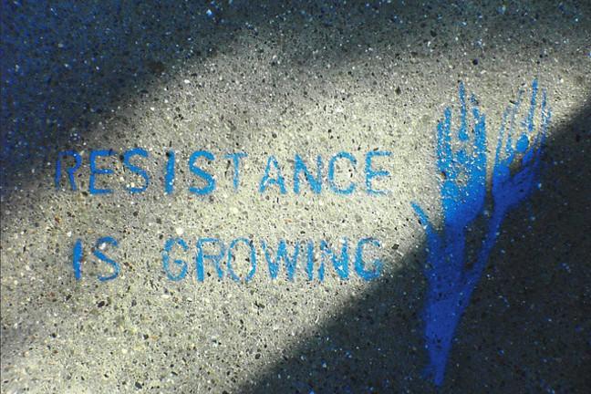 Resistance is growing by Sean Savage