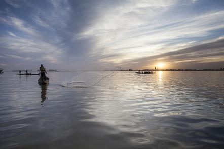 Mopti: inside the Inner Niger Delta region of Mali.