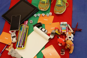 Selection of resources used in direct work with children