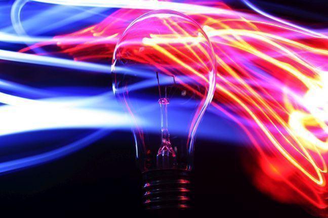 An image of a light bulb.