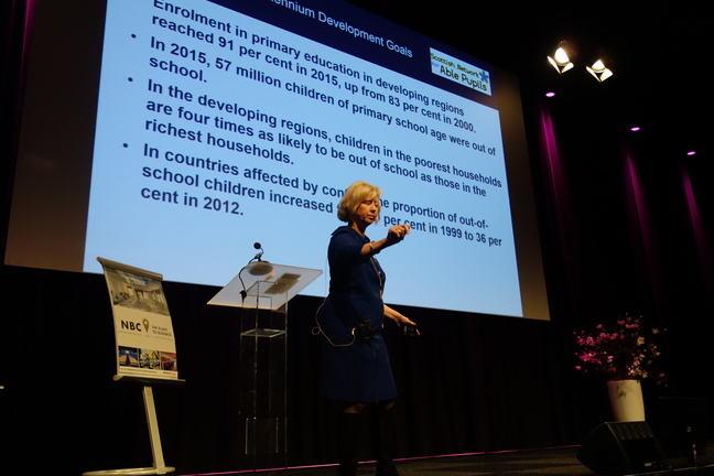 Margaret Sutherland, Lead Educator.
