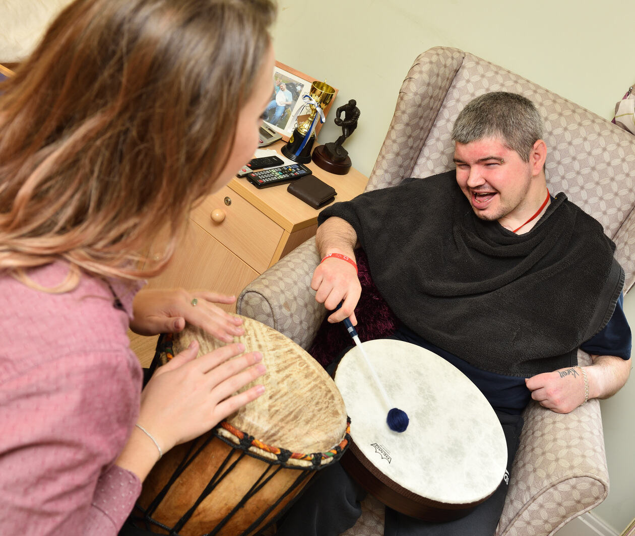 Caring with Music: Can Music Do More In Adult Care Settings?