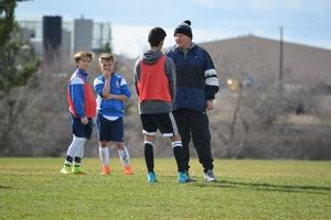 Coach and players
