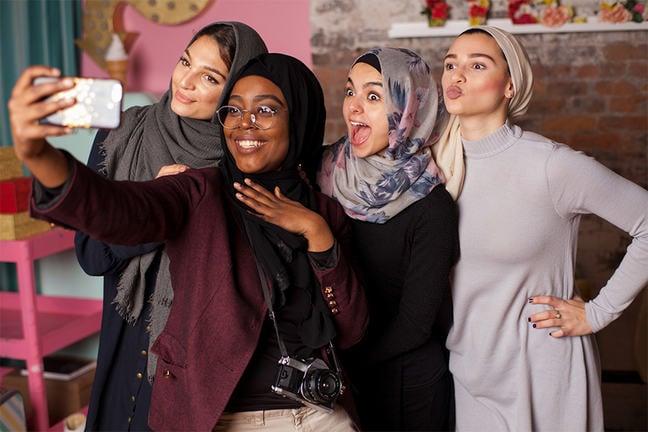#MuslimGirls Selfie