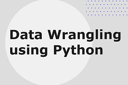 Data wrangling using Python