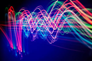 swirling lights