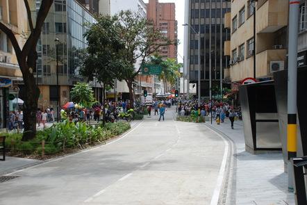 Normative transport planning - Medellín