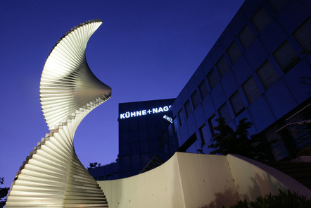 Kuehne + Nagel's global headquarters in Schindellegi, Switzerland