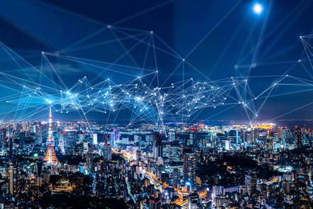 A connected city using technology, Internet of Things
