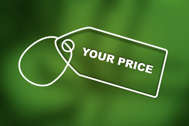 Your pricetag