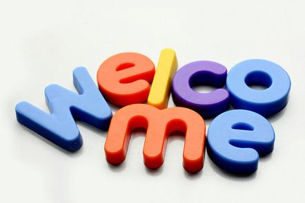 """Welcome"" flickr photo by manoftaste.de https://flickr.com/photos/manoftaste-de/14049520074 shared under a Creative Commons (BY) license"