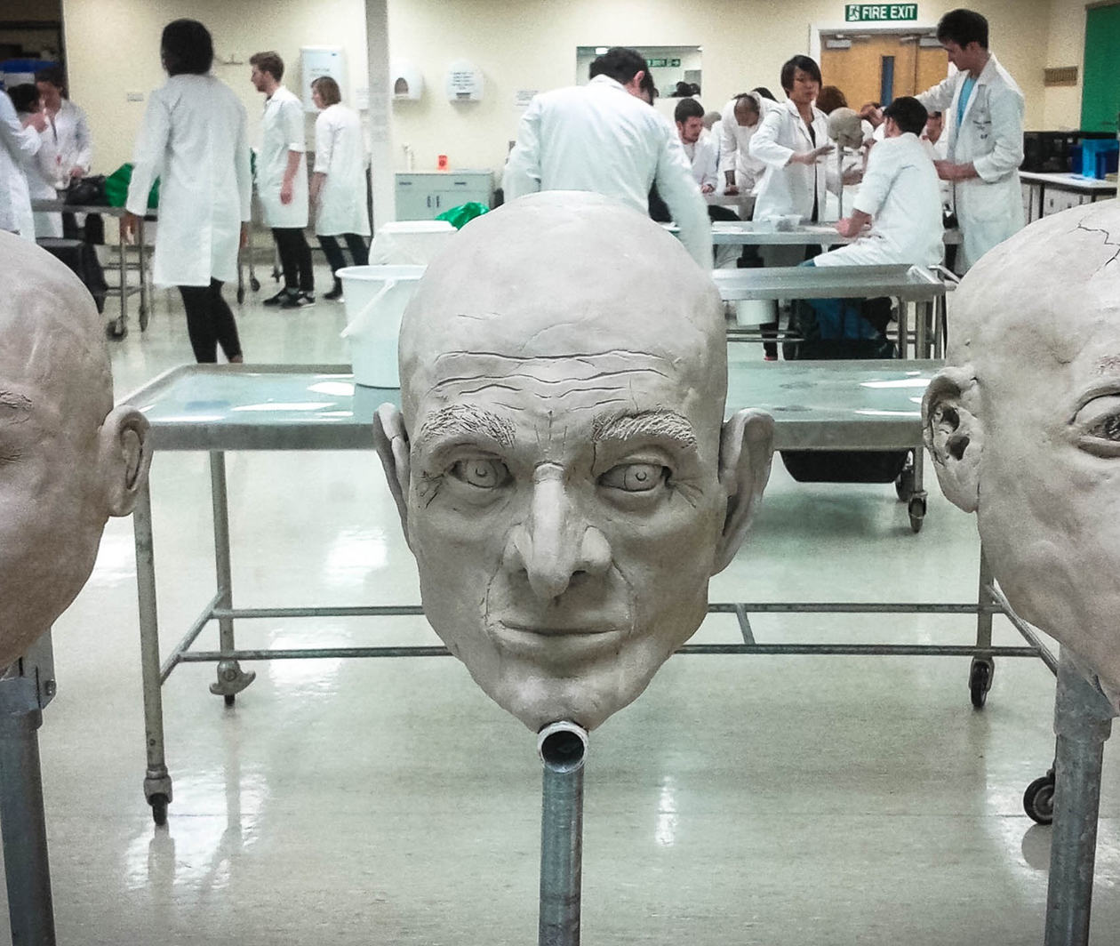 Forensic Facial Reconstruction: Finding Mr. X