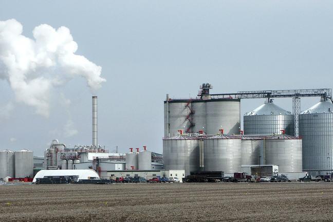 Ethanol production plant