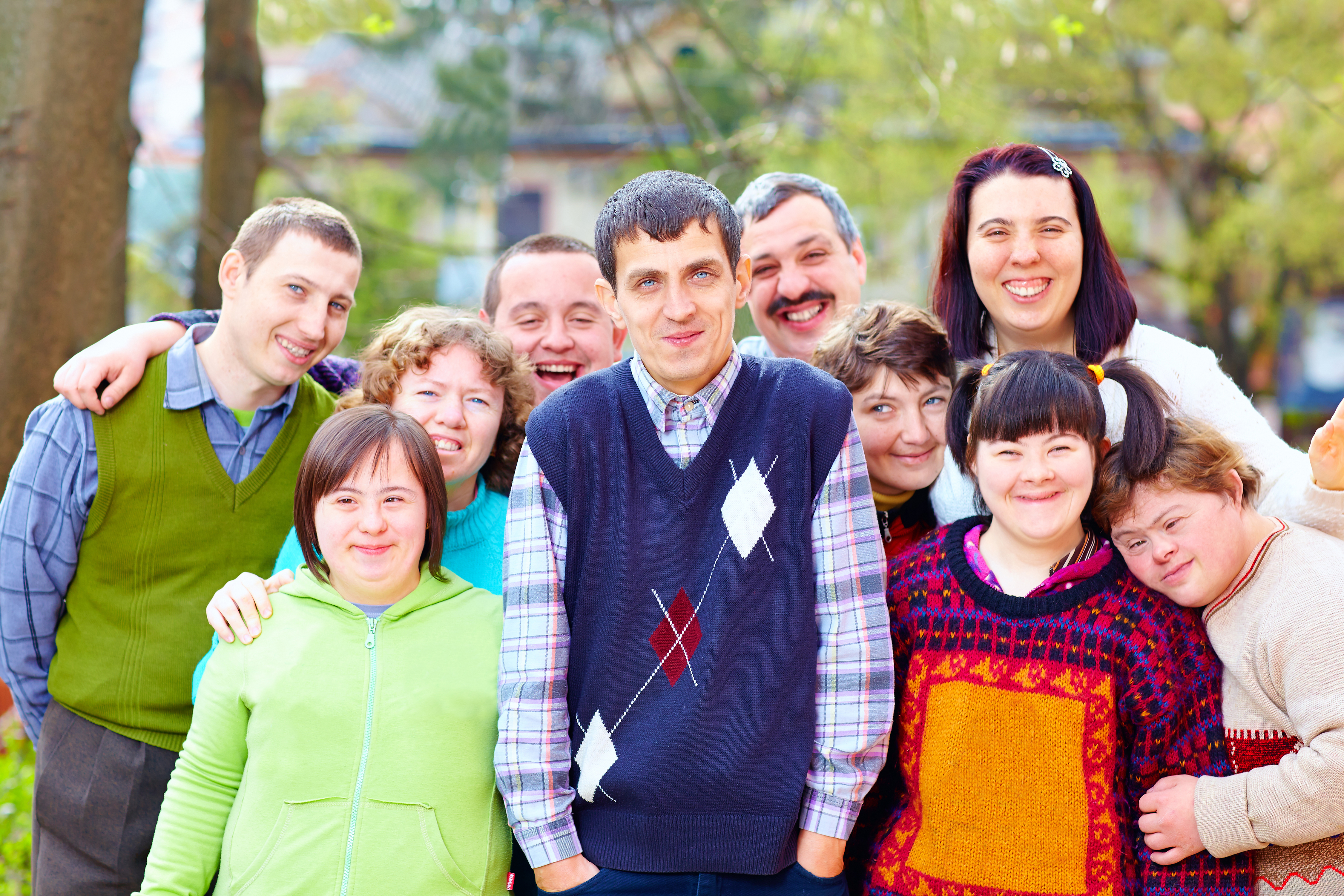 A group of people with an intellectual disability
