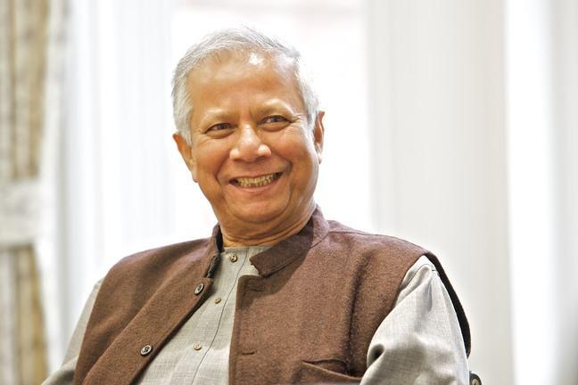 Professor Muhammad Yunus- Building Social Business Summit