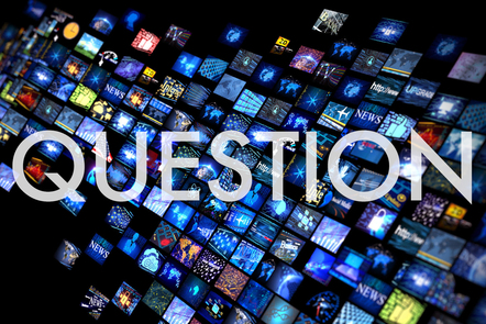 Question graphic title card