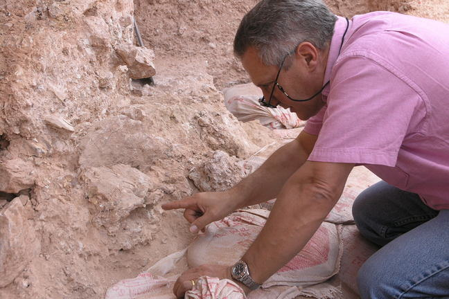 Dr. Jean-Jacques Hublin at Jebel Irhoud