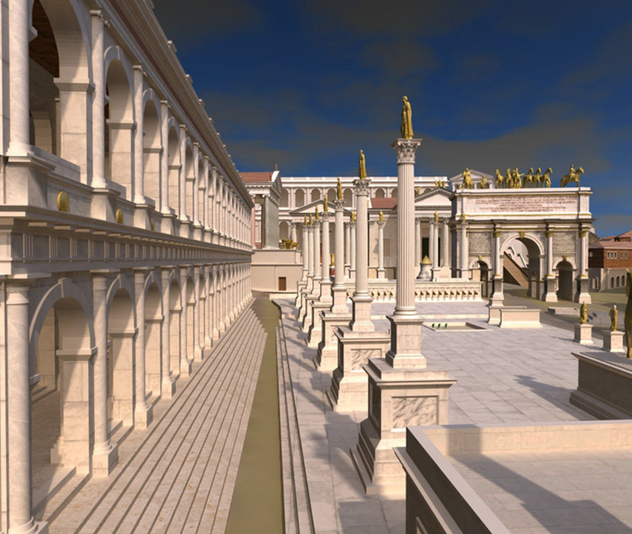 Rome: A Virtual Tour of the Ancient City
