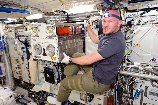 Alexander Gerst on ISS