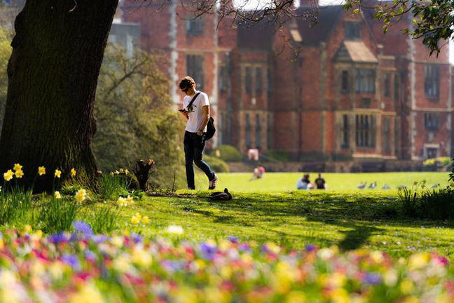 Student at Heslington Hall