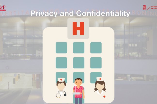 Privacy and confidentiality in a hospital