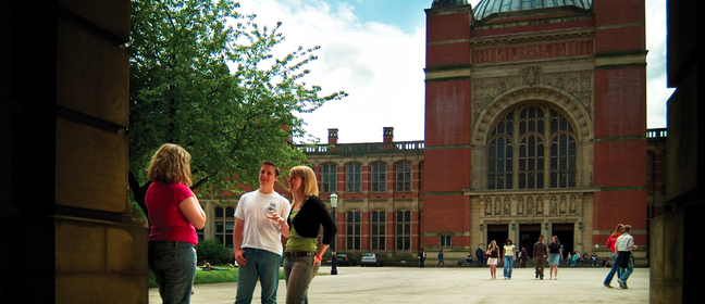 University of Birmingham students