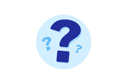 An illustration of a question mark