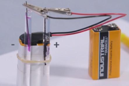 Microscale electrolysis