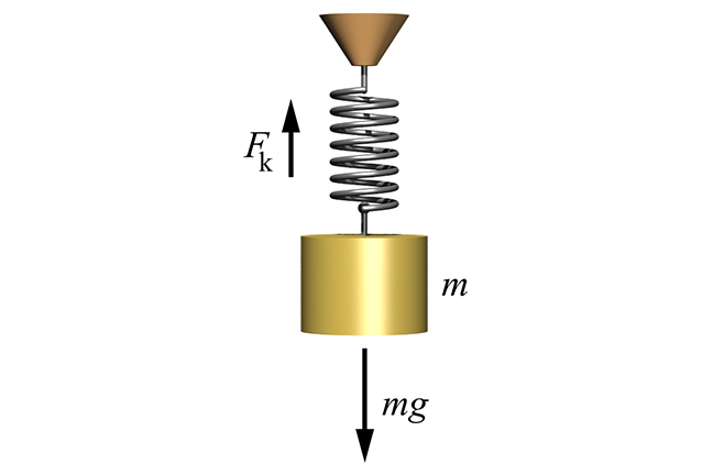 Hooke's law and the stiffness of springs