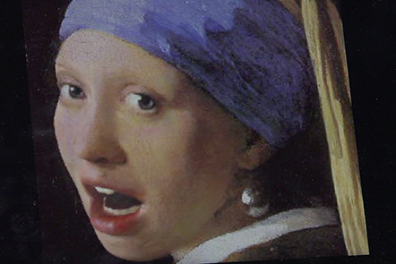 3d model of the Girl with a Pearl Earring