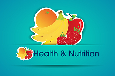 Health And Nutrition Sticker