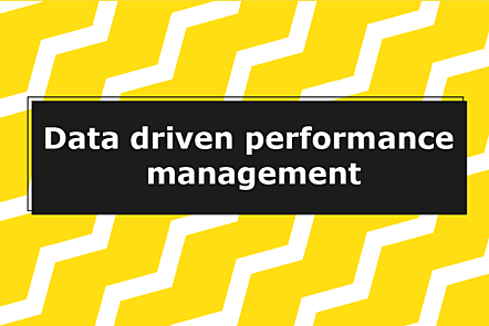 Data-driven performance decisions