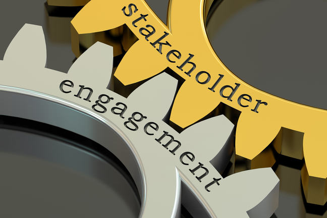Engagement stakeholder on cogs